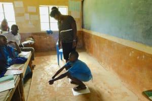 The Water Project: Shichinji Primary School -  Latrine Hygiene Session