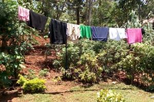 The Water Project: Shikhombero Community, Atondola Spring -  Clothes Drying