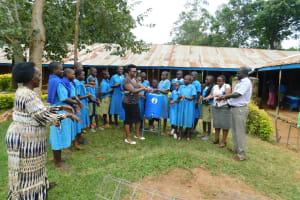 The Water Project: Shichinji Primary School -  Handwashing Demonstration