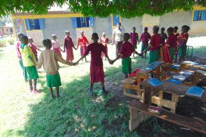 The Water Project: Nanganda Primary School -  Training Activity