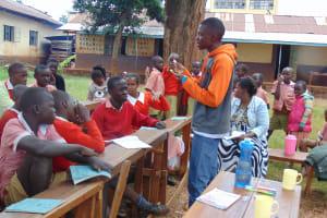 The Water Project: Kakamega Muslim Primary School -  Dental Hygiene Session