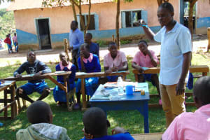 The Water Project: Banja Primary School -  Dental Hygiene Session