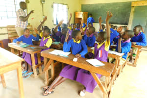 The Water Project: Kapkures Primary School -  I Know The Answer