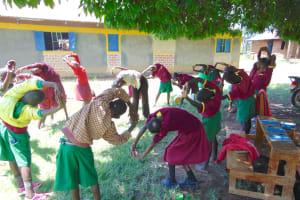 The Water Project: Nanganda Primary School -  Everybody Stretch