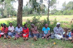 The Water Project: Sambaka Community, Sambaka Spring -  Attentive Training Participants