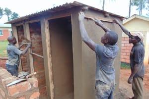 The Water Project: Demesi Primary School -  Latrine Measurements