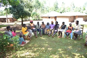 The Water Project: Emulembo Community, Gideon Spring -  Training Participants