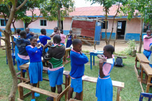 The Water Project: Banja Primary School -  Enjoying A Challenge