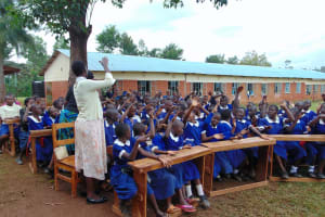 The Water Project: Demesi Primary School -  Having Fun At Training