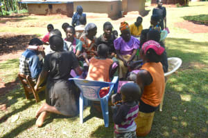 The Water Project: Emulembo Community, Gideon Spring -  Group Discussion