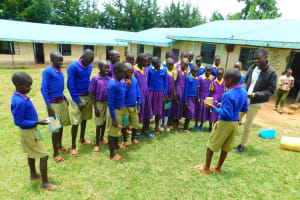 The Water Project: Kapkures Primary School -  Dental Hygiene Session