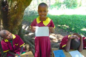 The Water Project: Nanganda Primary School -  Student Lydia Elected Health Club Treasurer