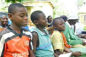 The Water Project: Bumira Community, Madegwa Spring -  A Few Participants