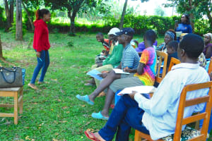 The Water Project: Bumira Community, Madegwa Spring -  Facilitator In Action