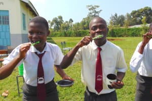 The Water Project: Ebulonga Mixed Secondary School -  Time To Try Them Out