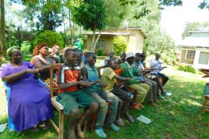 The Water Project: Bumira Community, Madegwa Spring -  Learning The Ten Steps Of Handwashing