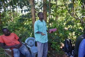 The Water Project: Emulembo Community, Gideon Spring -  Another Reaction