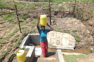 The Water Project: Sambaka Community, Sambaka Spring -  Headinghome With Clean Water