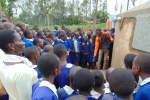 The Water Project: Demesi Primary School -  Learning About The Rain Tank