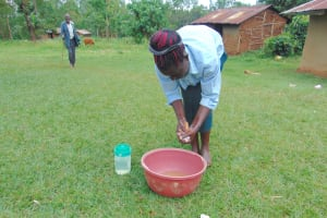 The Water Project: Munenga Community, Francis Were Spring -  Handwashing
