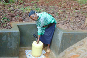 The Water Project: Masuveni Community, Masuveni Spring -  Happy Fetching Water