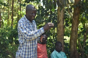 The Water Project: Emulembo Community, Gideon Spring -  Sharing A Response