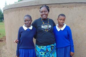 The Water Project: Demesi Primary School -  Facilitator Karen Maruti With Students