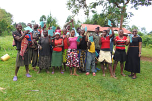 The Water Project: Munenga Community, Francis Were Spring -  Training Complete