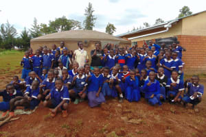 The Water Project: Demesi Primary School -  All Smiles After Completing Training