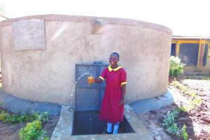 The Water Project: Nanganda Primary School -  Splash