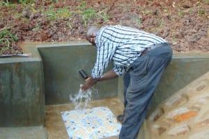 The Water Project: Masuveni Community, Masuveni Spring -  Smiles At The Spring
