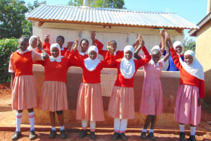 The Water Project: Kakamega Muslim Primary School -  United In Determination For A Bright Future