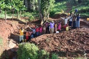 The Water Project: Emulembo Community, Gideon Spring -  Emulembo Community Says Thank You