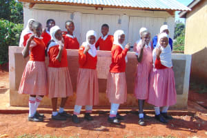 The Water Project: Kakamega Muslim Primary School -  Strike A Pose