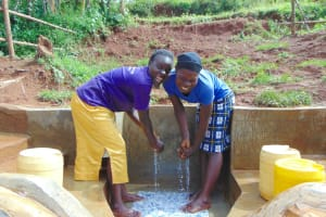 The Water Project: Munenga Community, Francis Were Spring -  Wow