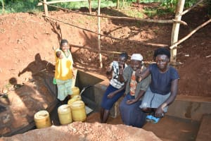 The Water Project: Emulembo Community, Gideon Spring -  Happy Day At The Spring