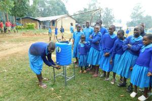 The Water Project: Shichinji Primary School -  Handwashing