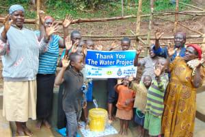 The Water Project: Bumira Community, Madegwa Spring -  Thank You