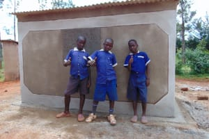 The Water Project: Demesi Primary School -  Thumbs Up For Vip Latrines