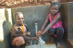 The Water Project: Emulembo Community, Gideon Spring -  Water Brings Opportunities For Kids