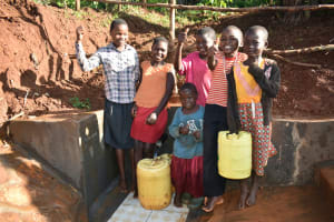 The Water Project: Emulembo Community, Gideon Spring -  Happy Day