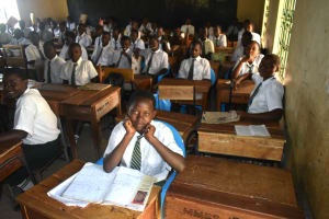 The Water Project: Makunga Secondary School -  Students In Class