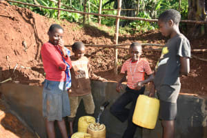 The Water Project: Emulembo Community, Gideon Spring -  Happiness And Shyness Show The Joy Of Emulembo Community