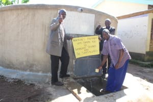 The Water Project: Kapkures Primary School -  School Staff Say Thank You