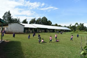The Water Project: Eshimuli Primary School -  Pupils On The Playground