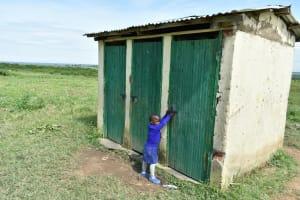 The Water Project: Eshimuli Primary School -  Girls Latrines