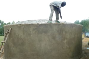 The Water Project: Shichinji Primary School -  Dome Construction