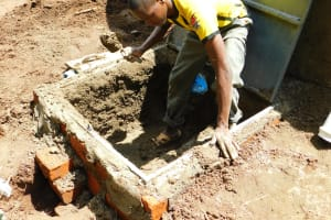 The Water Project: Kapkures Primary School -  Artisan Cements The Tanks Tap Area