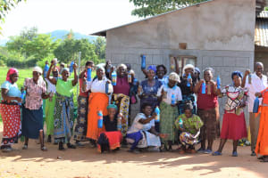 The Water Project: Mukuku Community A -  All The Training Attendees