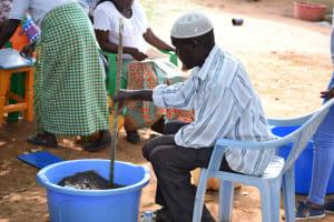The Water Project: Mukuku Community A -  Soapmaking